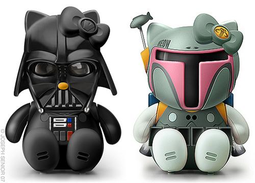 Des icônes Hello Kitty pour les geeks