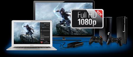 capture de gameplay jeux vidéo en 1080p game capture hd d'elgato