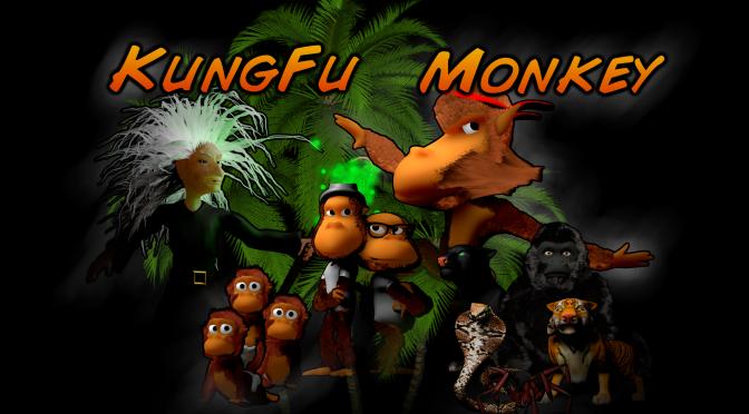 Kungfu Monkey, un nouveau jeu indé sur iOS !