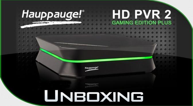 Découverte et test vidéo du HD PVR 2 d'Hauppauge