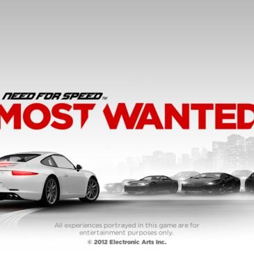image jeu vidéo NFS Most Wanted 2012