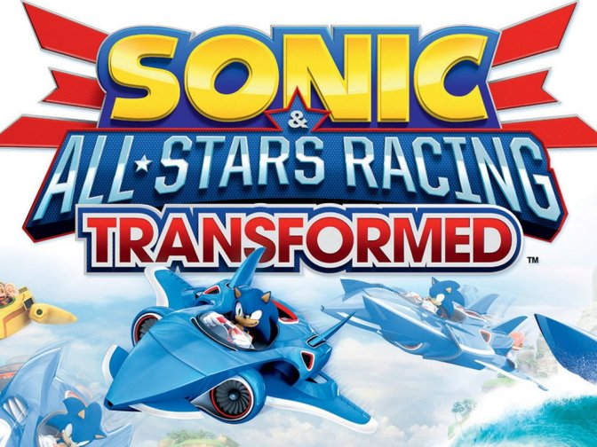 First Grip #10 démo Sonic All Stars Racing Transformed