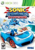 Jaquette/packshot sonic & all stars racing transformed