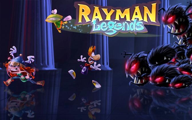 Réussir le niveau Nid de Dragons de Rayman Legends, vidéo du mode Envahis en moins de 40 secondes