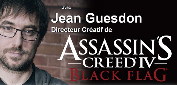Masterclass de Jean Guesdon d'Ubisoft, franchise Assassin Creed