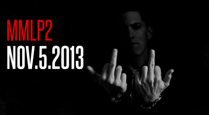 Le nouvel album d'Eminem, The Marshall Mathers LP 2 en écoute
