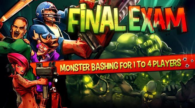 Et si on jouait à Final Exam ? Voici les gameplay de l'intégral du jeu XBLA avec VinceTheVice