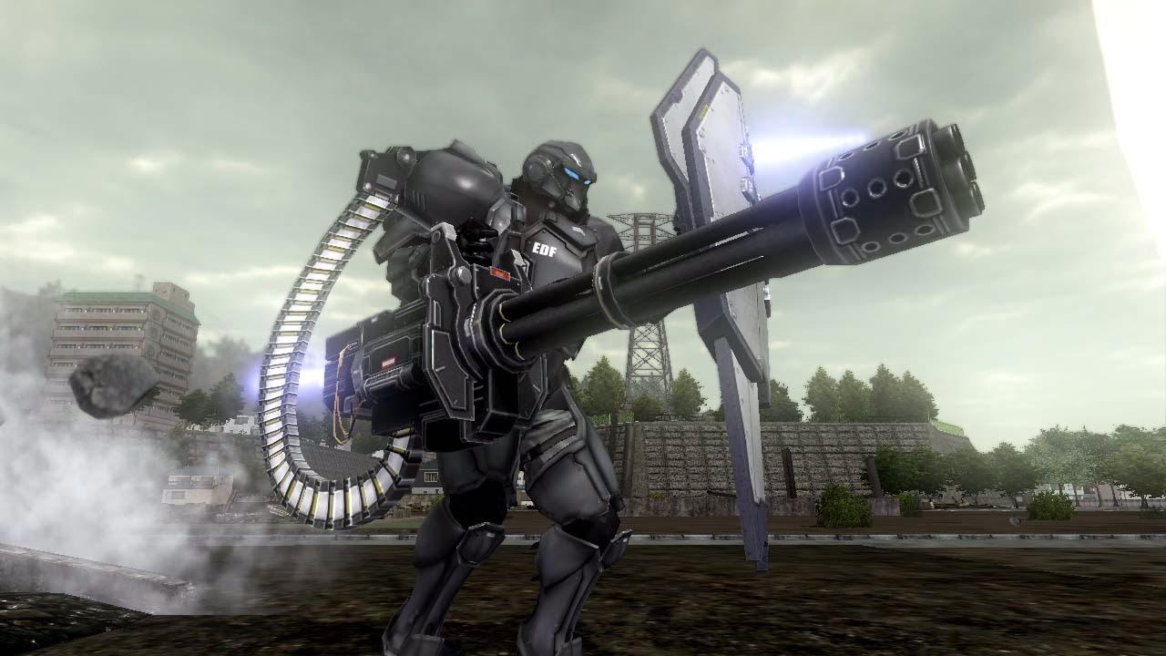 Personnage Fencer du jeu vidéo Earth Défense Force 2025