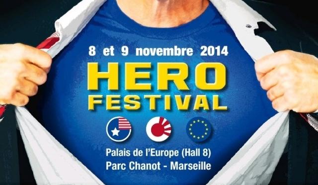 Le HéroFestival à Marseille, premier salon des Héros en novembre !